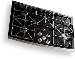 Ge Modular Cooktop Pgp990denbb Ge Profile 30 U2033 Downdraft Gas Modular Cooktop Black