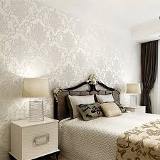 Bedrooms Wallpaper Designs Decorative Wallpaper For Home Feathers Wall Stencil Decorative