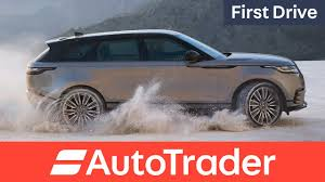 range rover velar 2017 first drive review youtube