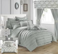 amazon com chic home hailee 24 piece comforter set complete bed