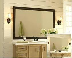 Home Depot Bathroom Mirror Bathroom Mirror Frame Bathroom Before Bathroom Mirror Frames Home