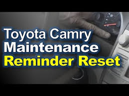 how to reset maintenance light on 2007 toyota highlander hybrid 2007 toyota camry simi valley ca youtube