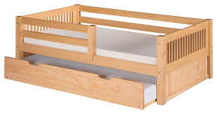 Daybed With Headboard by Camaflexi Twin Day Bed With Front Guard Rail And Twin Trundle