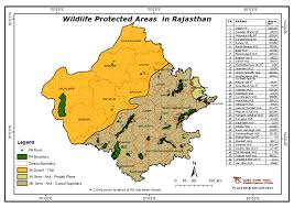 Blank Map Of Delhi by Maps Of Protected Areas In India