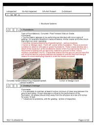 drainage report template pre purchase building inspection report template awesome pre sale