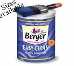 easy clean berger paints at rs 4999 unit decorative paint id