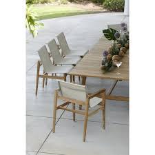 Outdoor Living Room Sets Astonishing Summer Classics Coast Teak Sling Canvas Outdoor Side