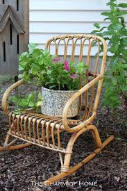 Rustic Outdoor Decor The Charm Of Home Rustic Garden Decor