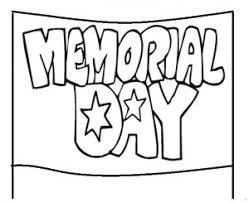 banner coloring pages memorial day coloring pages for kids preschool and kindergarten