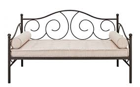 daybed white frame metal day bed link spring images on amusing