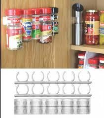 Cabinet Door Clips 2017 Spice Organizer Rack Cabinet Door Clips Bottles Wall Mount