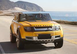 land rover defender convertible new land rover defender edges nearer to 2016 debut as concept