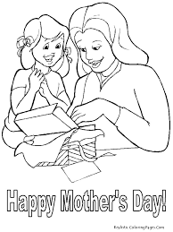 unique happy mothers day coloring pages best g 7444 unknown