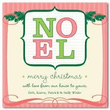 printable pink noel christmas card template
