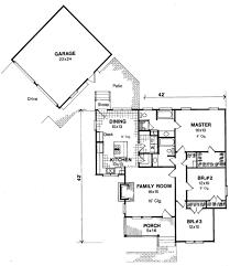 detached garage floor plans rear patio joins detached garage house plan hunters
