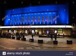 night time facade of the hammersmith apollo hammersmith london