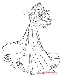 pretty princess aurora coloring page princess rae pinterest