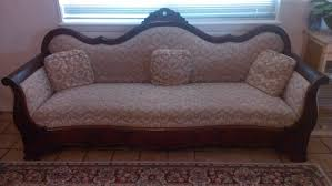 Small Sofas For Small Living Rooms by Vintage Victorian 3 Seater Sofa With White Cushions And Wooden