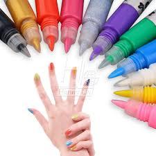 3d nail art polish painted pen liner painting pen carved pen kit