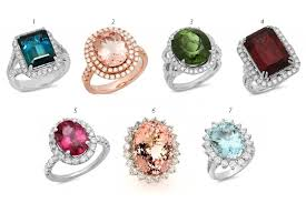 fashion gem rings images 7 unique engagement rings to wow you my fashion juice jpg