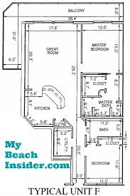 bath floor plans calypso towers condo floor plans panama city florida