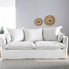 la redoute canap canapé fixe en froissé odna la redoute interieurs la redoute