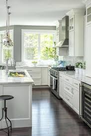 kitchens ideas with white cabinets white and grey kitchen ideas alund co
