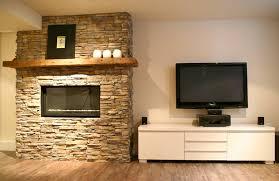 modern stone fireplace with stone fireplace wall bates masi