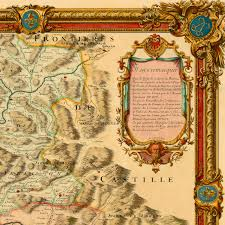 Andorra Map Pyrenees 1730 France Spain Andorra Old Map Battlemaps Us