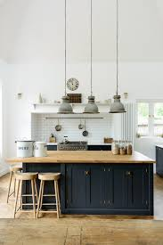 oak kitchen island units a lovely big island by devol with oak worktops to match our
