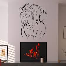 53 wall art decals designs of wall stickers wall art decals to de bordeaux dogs animal wall art sticker wall decal transfers ebay