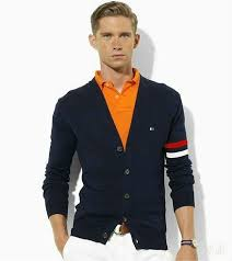 hilfiger sweater mens hilfiger s solid blue sweater boutique quality