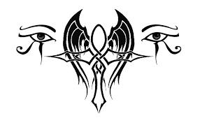 beautiful ankh design with eye of horus tattooshunt com