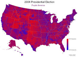 Colors Of Purple Election 2004 Results