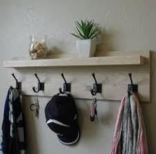 mid century modern hallway coat rack mirror shelf mid century