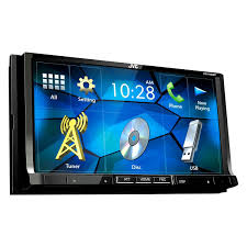 jvc home theater jvc kwv420bt double din dvd cd am fm mp3 wma flac aac mp4 avi