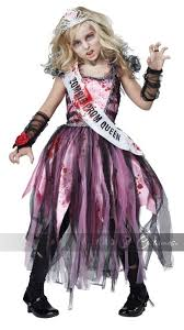 Scary Halloween Costumes Girls Zombie Prom Queen U0027s Costume Zombie Prom Queen Zombie Prom