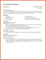 Punctuation In Resumes Resume Template Standard Create My Resume Resume Format 2017 16