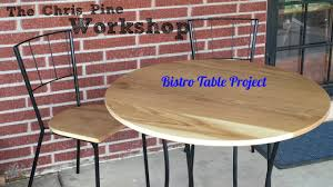 Jackson Bistro Table Bistro Table Project Youtube