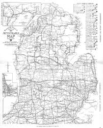 Map Of Southern Michigan by Michigan State University Libraries Map Library Footpaths To