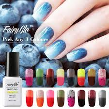 fairy glo pick any 3 colors soak off gel nail polish thermal