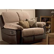 Fabric Recliner Sofa Enchanting 2 Seater Fabric Recliner Sofa On Recliner Chairs Small