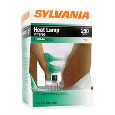 250 watt infrared heat l bulb sylvania 250 watt soft white incandescent light bulb lowe s canada
