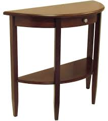 accent tables and console tables organize it