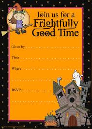 Free Birthday Card Invitation Templates Halloween Card Invitations U2013 Festival Collections