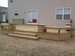 backyard deck designs plans for goodly best wood deck designs