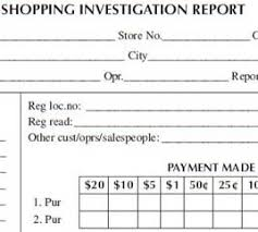 theft report form template sle shopping investigation report form cso