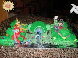 coolest teletubbies birthday cake