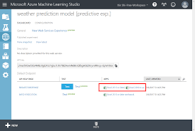 weather forecast using azure machine learning with data from iot