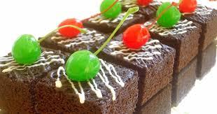cara membuat brownies kukus simple resep membuat kue brownies kukus coklat yang lezat enak dan mudah